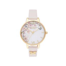 Pretty Blossom Blossom & Rose Gold Watch