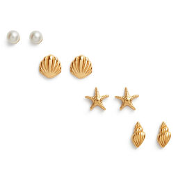 Assorted Gold Studs Pack
