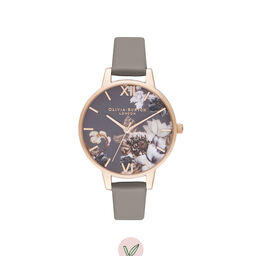 Demi Vegan Grey & Rose Gold Watch