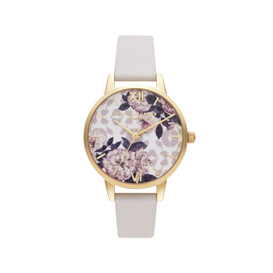 Wild Flower Vegan Blush & Gold Watch