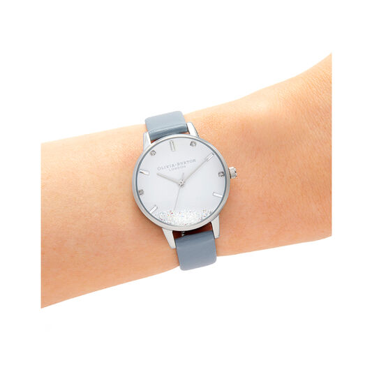 Wishing Watch Vegan Blue & Silver Watch