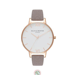 Eco Friendly Lilac & Rose Gold Watch