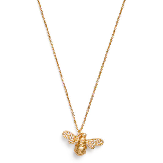 Sparkle Bee Gold Necklace