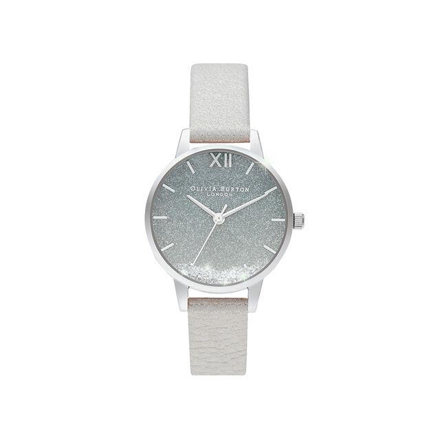 Wishing Watch, Glitter, Grey & Silver Watch