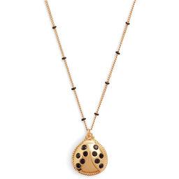Ladybird Necklace Gold