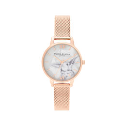 Winter Wonderland Dial & Rose Gold Mesh