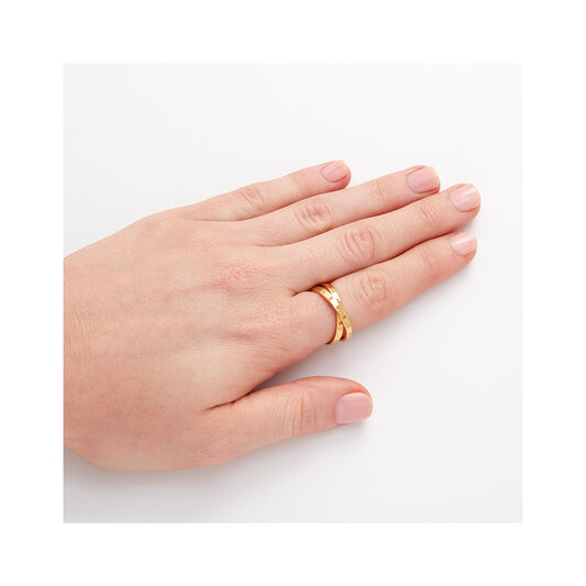 Classics Interlink Gold Ring S