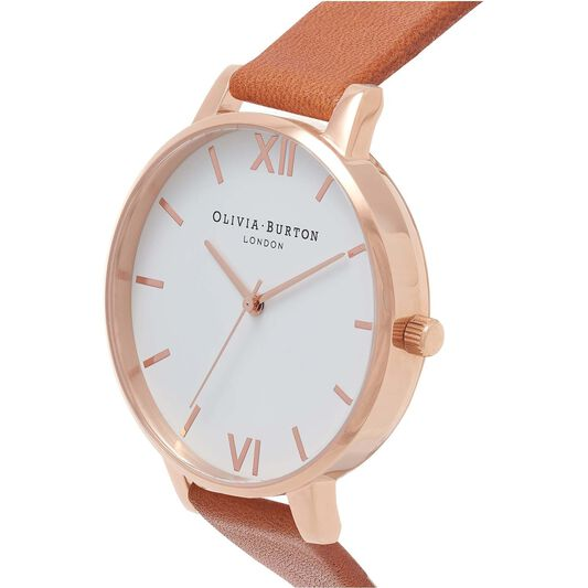 Olivia Burton Ladies White Dial White Watch