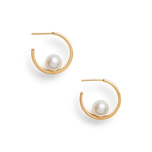 The Classics Gold Pearl Hoop