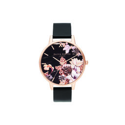 Shoreditch Marble Florals, Vegan Black & Rose Gold