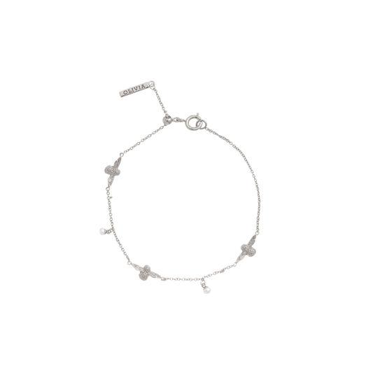 Pearl Bee Silver Bracelet