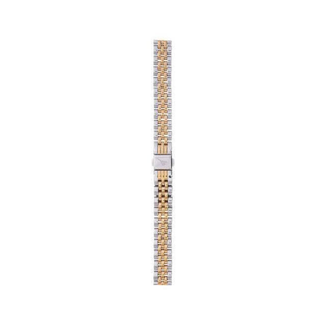 Midi Dial Gold & Silver Bracelet Strap