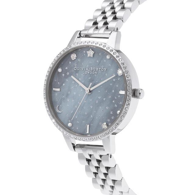 Night Sky Demi Dial Silver Bracelet Watch