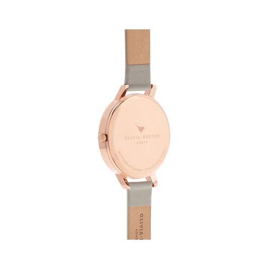 Queen Bee Grey Dial & Rose Gold Watch