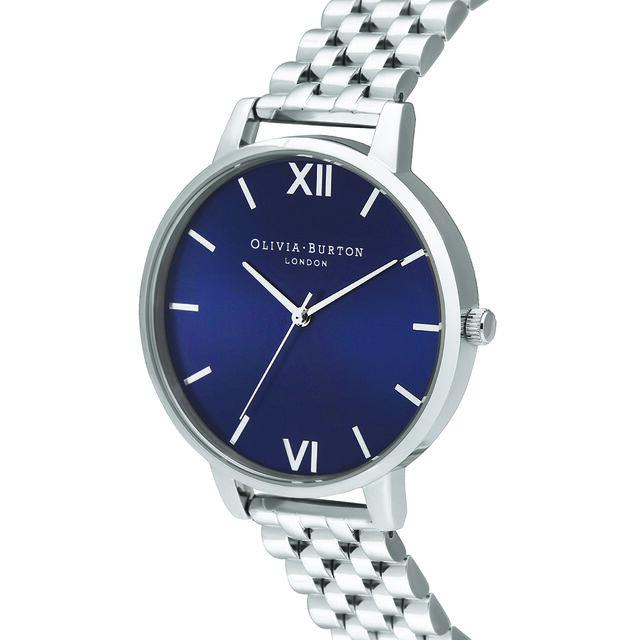 Shoreditch Classic, Midnight & Silver Bracelet