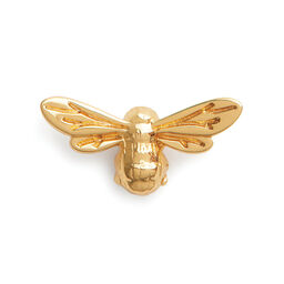 Lucky Bee Pin Gold