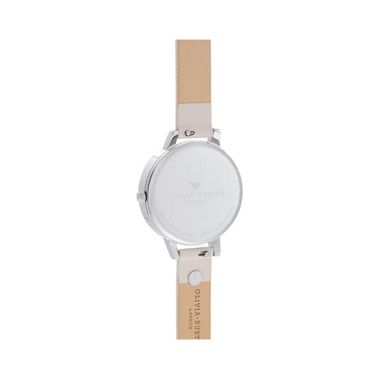 Celestial Star Mother of Pearl Blush & Silver Watch