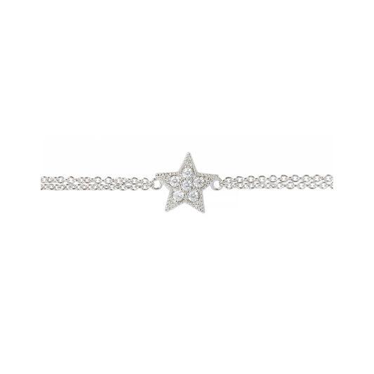 Celestial Star Silver Bracelet