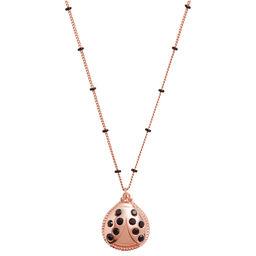 Ladybird Necklace Rose Gold
