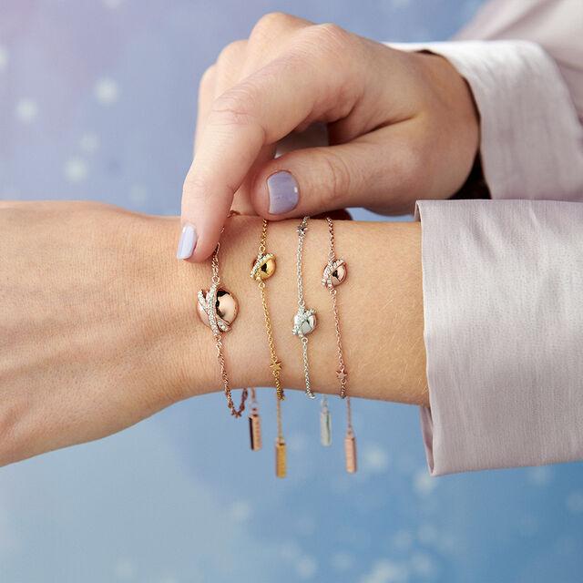 Planet Gold Chain Bracelet