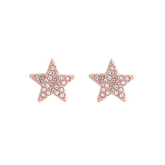 Star Rose Gold Stud