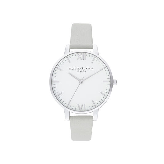 Timeless Silver & Grey Watch