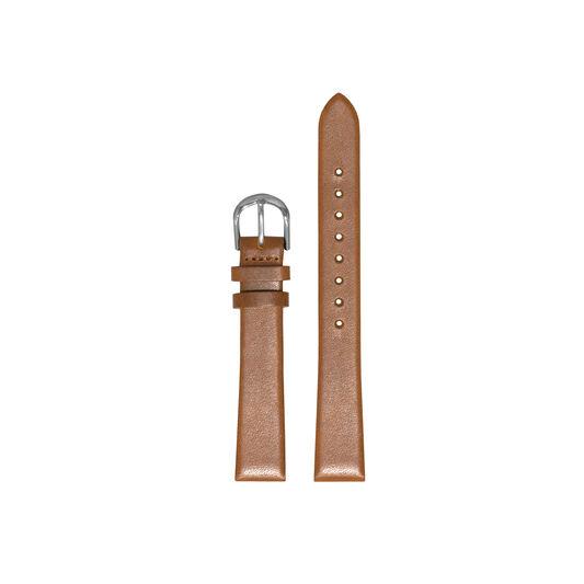Big Dial Tan & Silver Watch Strap