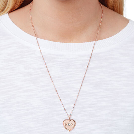 Made for Mom Necklace Rose Gold