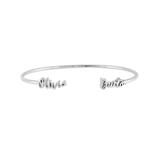 The Classics Olivia Burton Silver Bangle