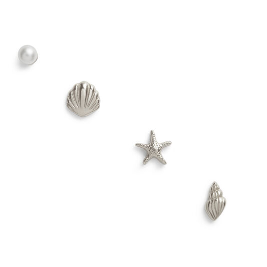 Assorted Silver Studs Pack
