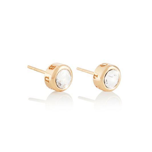 Round Stud Earring Gold
