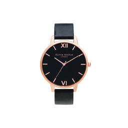 Shoreditch Classic, Black & Rose Gold