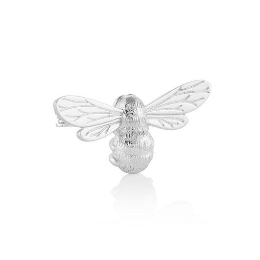 Lucky Bee Silver Brooch