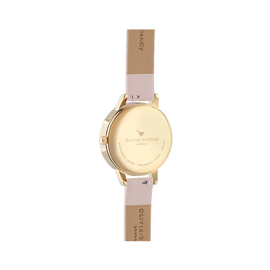 Pretty Blossom 3D Butterfly Vegan Rose & Gold Watch