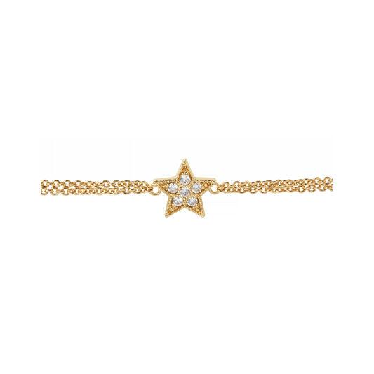 Celestial Star Gold Bracelet