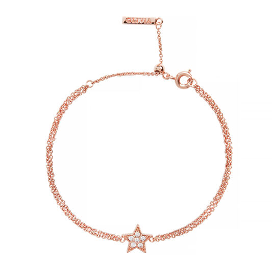 Celestial Star Rose Gold Bracelet