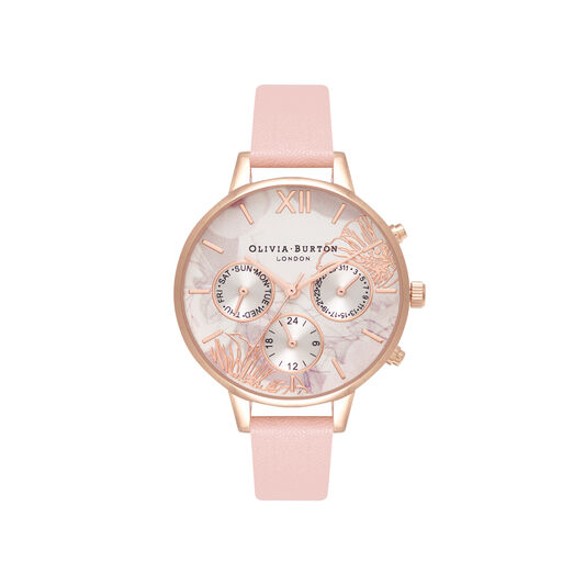 Chrono Demi Dial Dusty Pink & Rose Gold