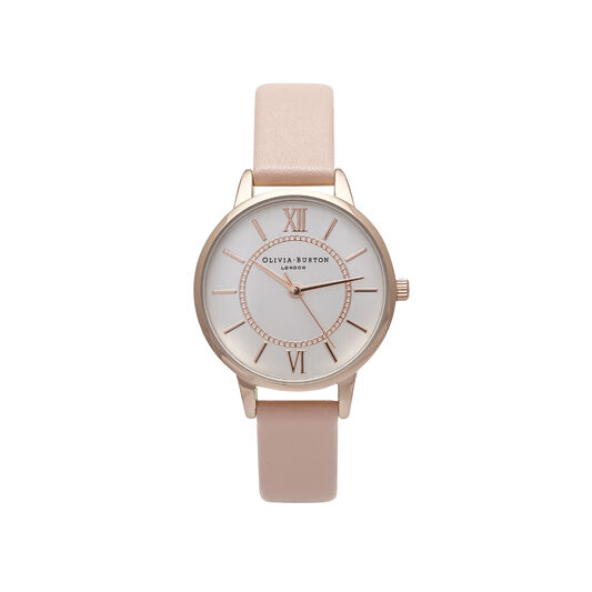 Wonderland Pink & Rose Gold Watch