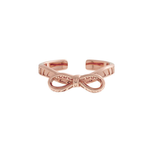 Bow Rose Gold Ring
