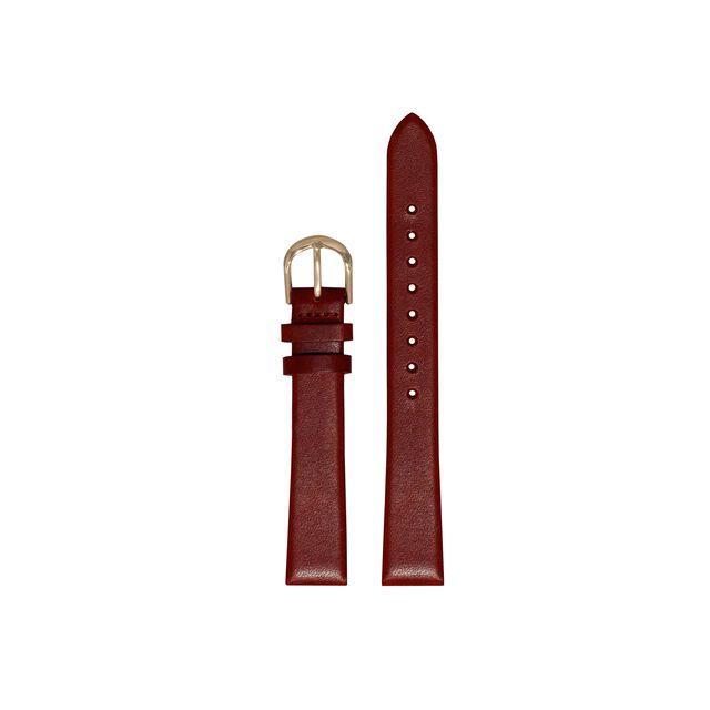 Midi Dial Burgundy & Gold Strap