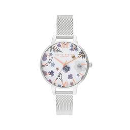 Artisan Silver Mesh Watch
