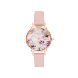 Sunlight Florals Pink & Rose Gold Watch