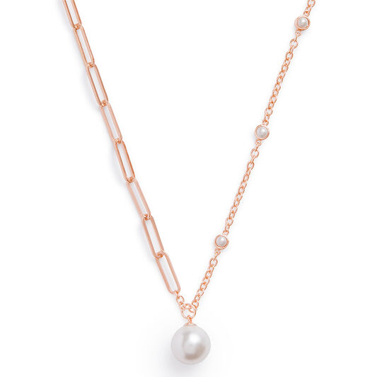 Collier Pearl or rose