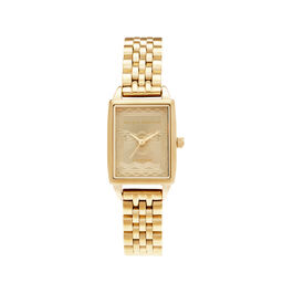 London Stamp Bee Gold Bracelet Watch