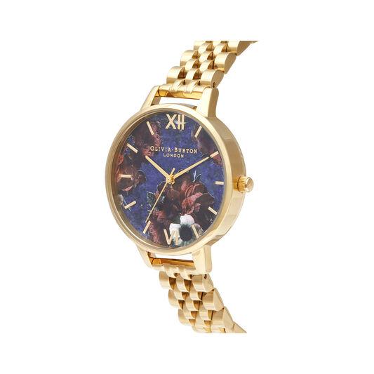 Demi Lapis Lazuli & Gold Bracelet Watch