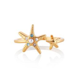 Starfish Gold Ring
