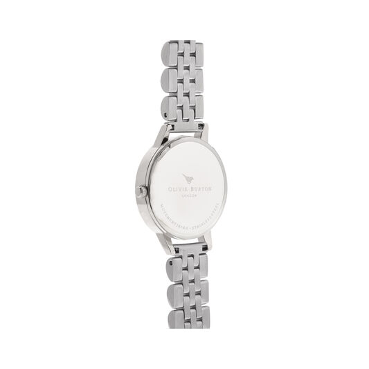 Mother of Pearl Silver Bracelet Watch