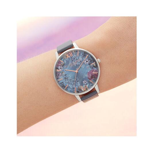 Under the Sea Eco Friendly Blue & Silver Watch