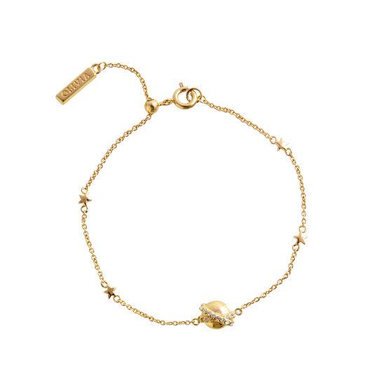 Bracelet chaîne Planet or