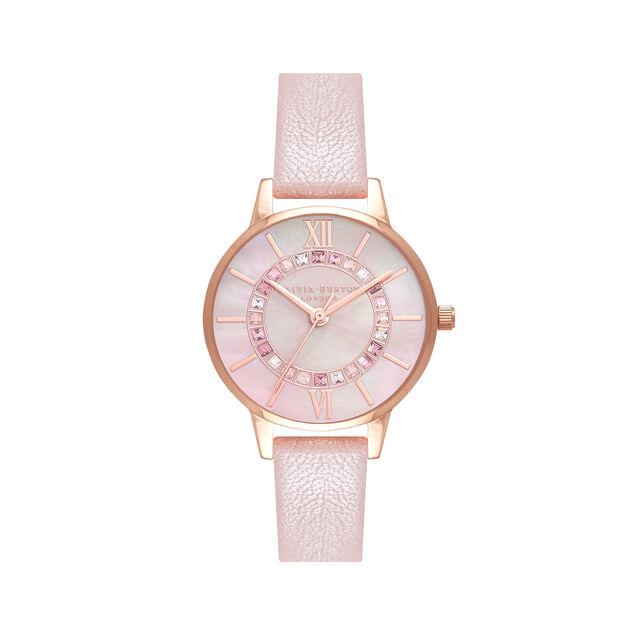 Sparkle Wonderland Pearl Pink & Rose Gold Watch